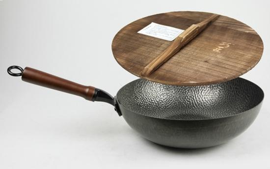 圖片 【勳風】手工錘打鍋~32公分大炒鍋/(HF-N3288)-電