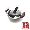 圖片 【勳風】手工錘打鍋~24公分大湯鍋/(HF-N6624)-電