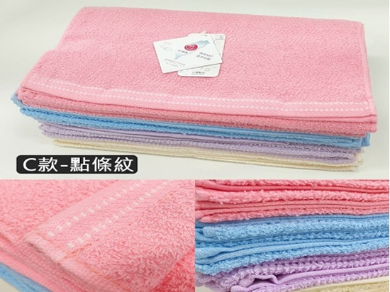 圖片 MIT吸水舒適毛巾12入