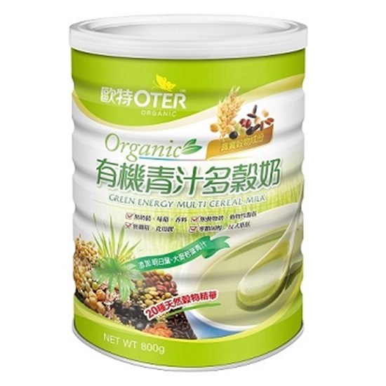 圖片 【歐特】有機青汁多穀奶(800g/罐)