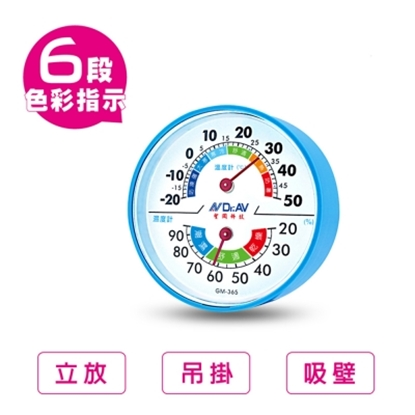 圖片 環境健康管理 溫濕度計(一組兩入)