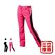 暖殼褲【戶外趣】三層貼合彈性女軟殼褲-電