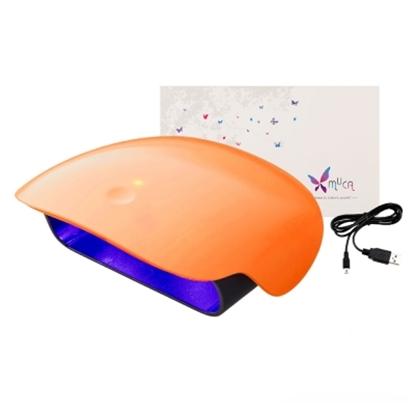 圖片 Muca沐卡 LED光撩美甲燈-個性橘