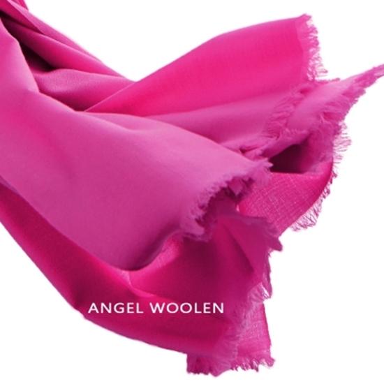 圖片 Angel Woolen 極致保暖絲光胎羊毛披肩 圍巾(共五色)