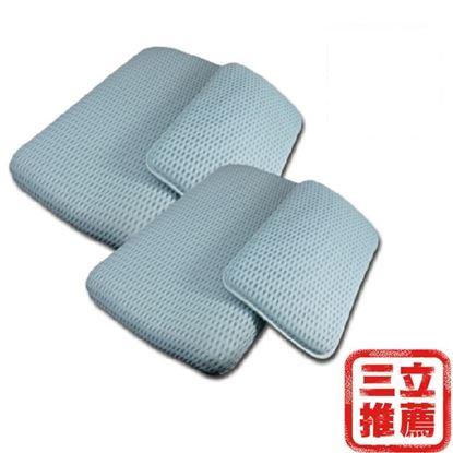 圖片 日本YAMAKAWA 4D涵氧立體可調式透氣子母枕-電