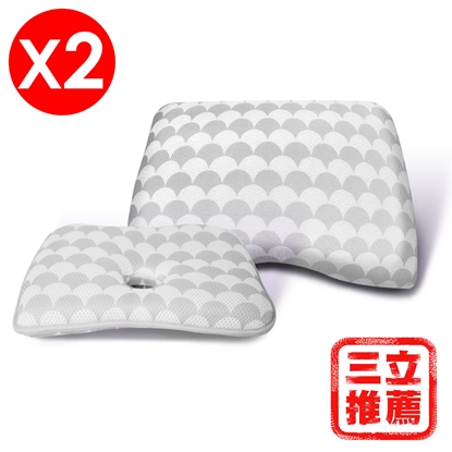 圖片 (8D枕)【YAMAKAWA】人體工學三次元8D枕-電