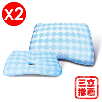 【YAMAKAWA】人體工學三次元快眠枕-電