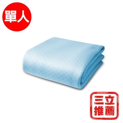 【YAMAKAWA】 冰心涼感床包(藍色)-電