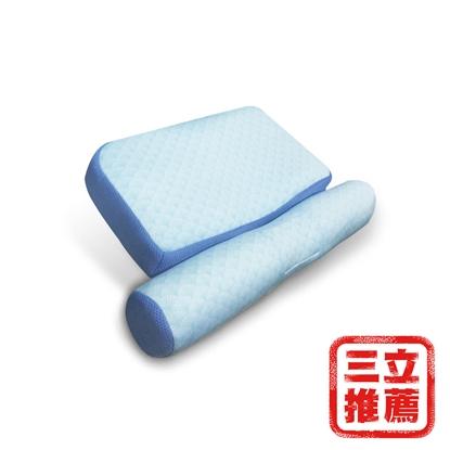 【YAMAKAWA】全方位 冰心涼感護頸枕(單入組)-電