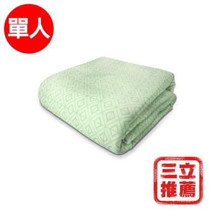【YAMAKAWA】 冰心涼感床包(綠色)-電