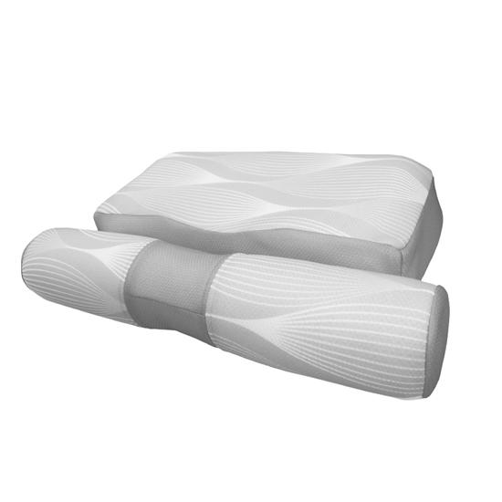 圖片 【YAMAKAWA】全方位可調式護頸枕(灰)(雙入組)-電