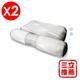 【YAMAKAWA】全方位可調式護頸枕(灰)(雙入組)-電