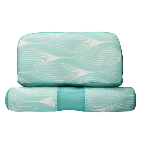 圖片 【YAMAKAWA】全方位可調式護頸枕(TIFFANY綠)(雙入組)-電