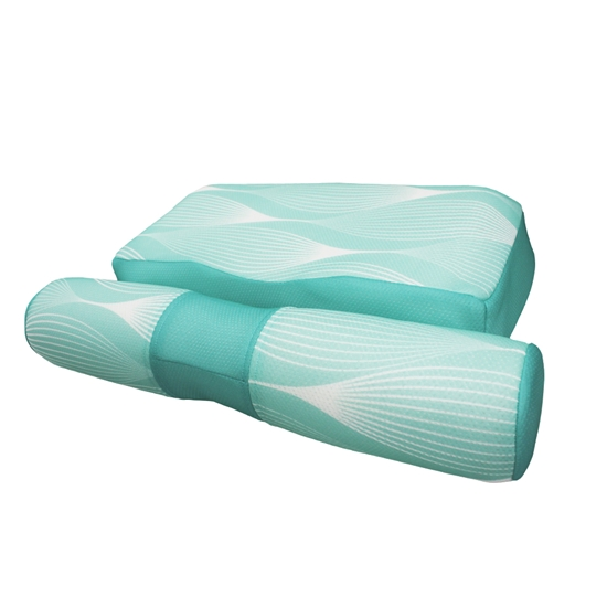 圖片 【YAMAKAWA】全方位可調式護頸枕(TIFFANY綠)(單入組)-電