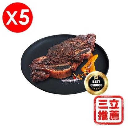 美國安格斯帶骨牛小排肉乾(5包入)-電