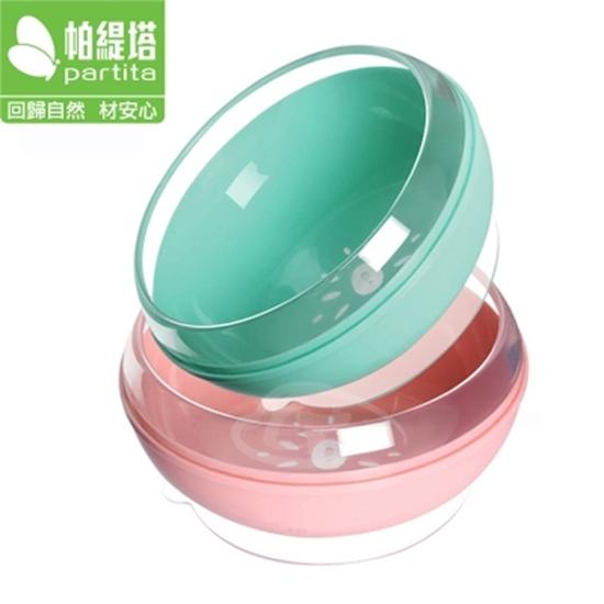 圖片 【Partita 帕緹塔】食品級安全矽膠吸盤碗(450ml) PTB319