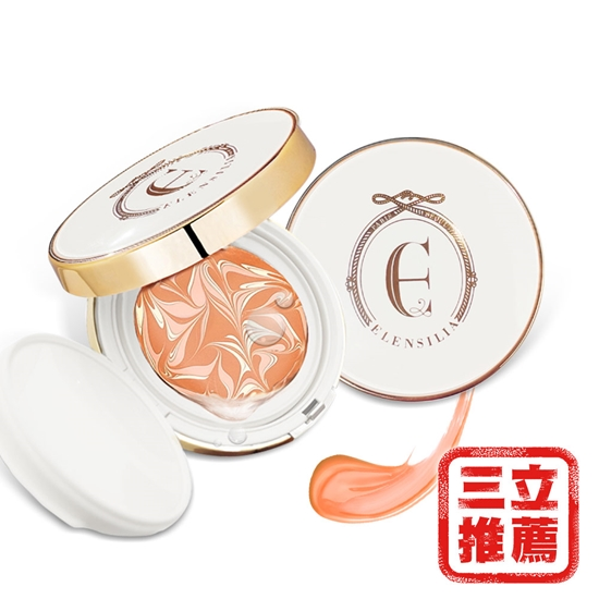 圖片 ELENSILIA 珍鑽保濕防曬粉餅(SPF50+, PA+++)1正1補(粉凝霜)-電