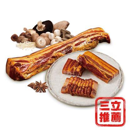 圖片 【中晏生機】四代祖傳手工松香豬冷燻後腿肉-電