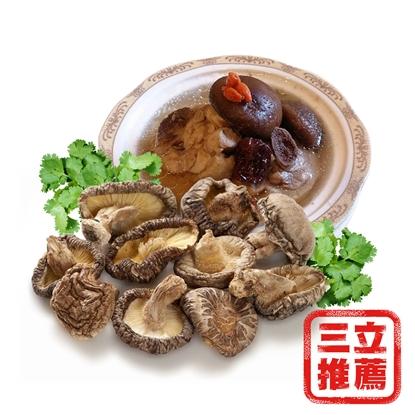 圖片 【盈盈農圃】有機台灣椴木真香菇組(段木香菇)-電