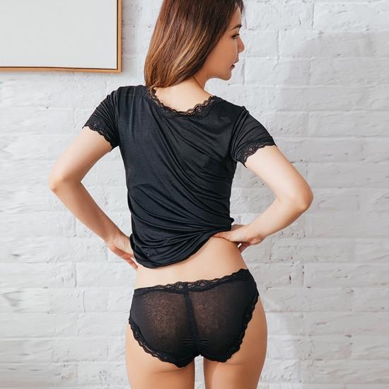 圖片 【NEONER銀離子】彈性親膚薄絲中腰褲買三送一特惠組