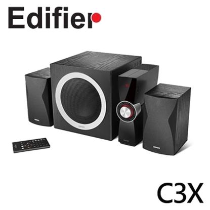 Edifier 漫步者 C3X 三件式 2.1 聲道 高品質喇叭