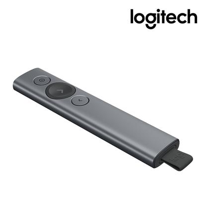 Logitech 羅技 SPOTLIGHT 簡報遙控器-質感灰