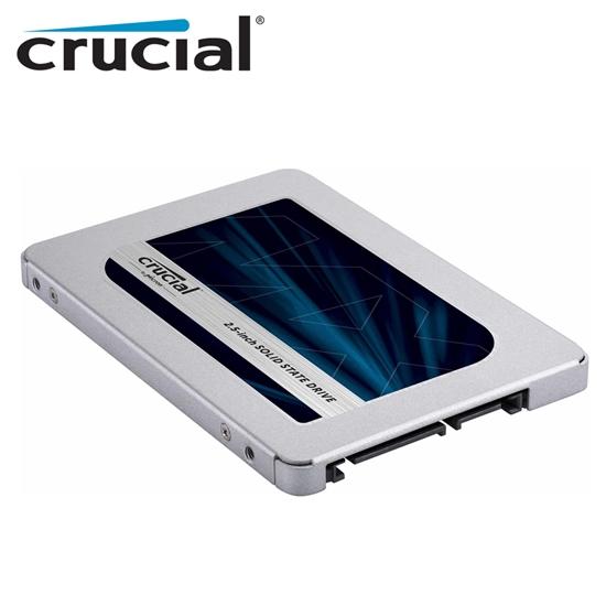 圖片 美光 Micron Crucial MX500 500GB 500G SATAⅢ 2.5吋 SSD 固態硬碟 五年保固