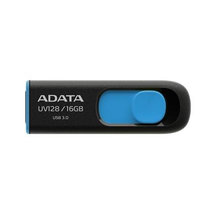 圖片 ADATA 威剛 UV128 16GB USB3.0 上推式隨身碟 藍色