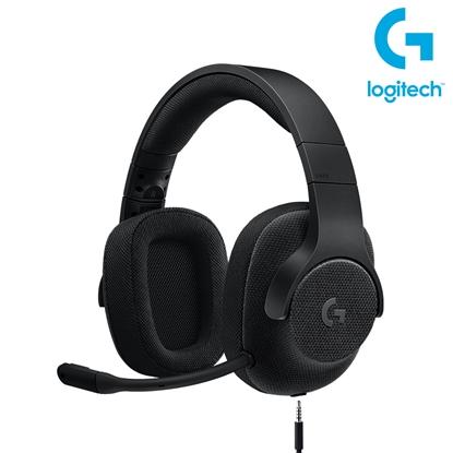 圖片 Logitech 羅技 G433 7.1聲道有線遊戲耳機麥克風 宇宙黑