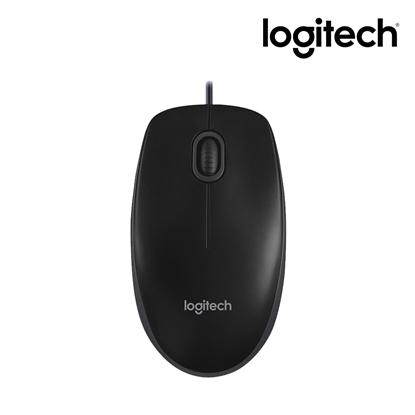 圖片 Logitech 羅技 B100 有線光學鼠 USB (免運)
