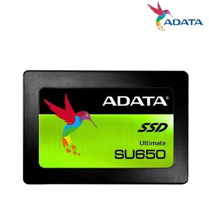 圖片 ADATA 威剛 Ultimate SU650 960G 960GB(讀520M/寫450M/TLC/三年保固) SSD 固態硬碟