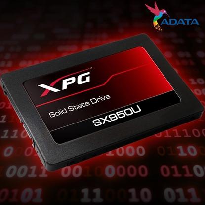 圖片 ADATA 威剛 XPG SX950U 240G 240GB (讀560M/寫520M/TLC/五年) SSD 固態硬碟