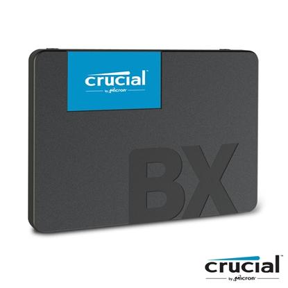 圖片 美光 Micron Crucial BX500 480G 480GB (讀540M/寫500M/3D TLC/7mmSATA-3/三年保) SSD 固態硬碟
