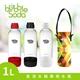 【法國BubbleSoda】全自動氣泡水機專用水瓶1L(白)(附專用外出保冷袋)