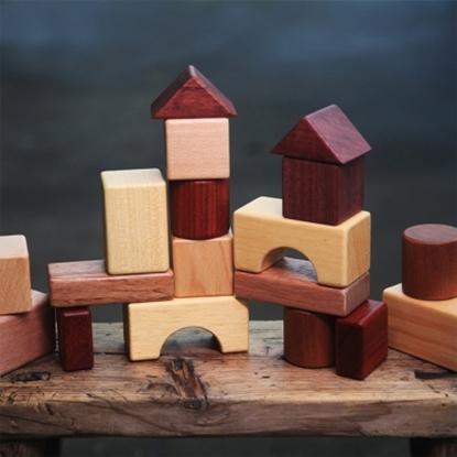 圖片 《IWOOD》大地積木| NATURAL BLOCKS 創意木玩 兒童玩具