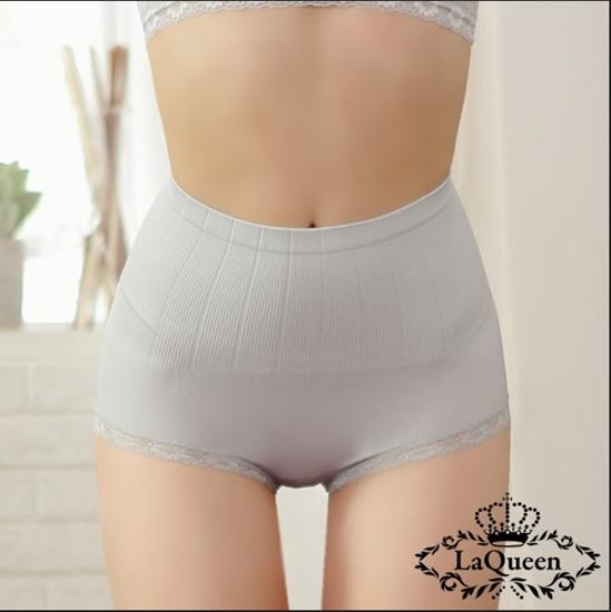 圖片 LAQUEEN 蠶絲魔塑褲超值8+2件組(高腰修飾內褲)-電