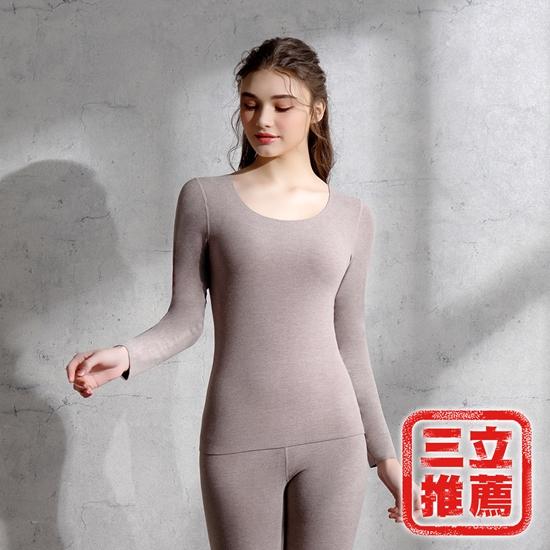 圖片 極致抗敏鑽石羊德絨輕柔衣 保暖衣褲 (二套組)-美安