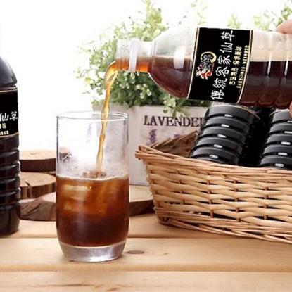 圖片 【瘋神邦】傳統客家手工仙草茶500CC/瓶X16瓶裝(微糖)低GI首選