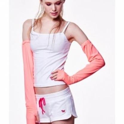 圖片 極光-光能美機能袖套-紅光-電
