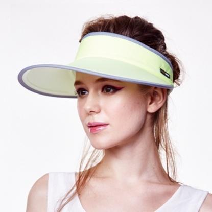 圖片 【極光】先進光學美療布大太陽帽(范冰冰愛用款)-黃色-電