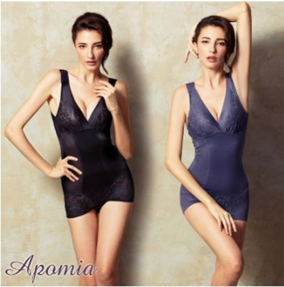 圖片 【艾波迷亞】法式香莉菱格紋均壓美體衣2件組-電