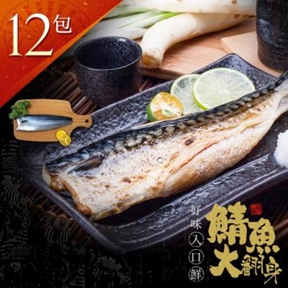 圖片 【漁季】挪威薄鹽鯖魚片160GX12包-電