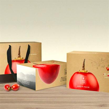 圖片 【草地狀元】春霖山園樹蕃茄禮盒 A組(鮮果+蜜釀+純醬)-電