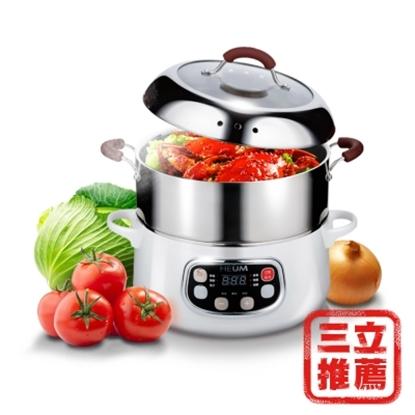 圖片 韓國HEUM饗鮮多功能電蒸火鍋-電