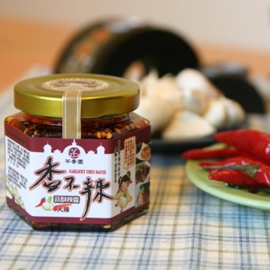 圖片 【芊香園】香不辣 蒜酥辣醬(大辣4入)-電