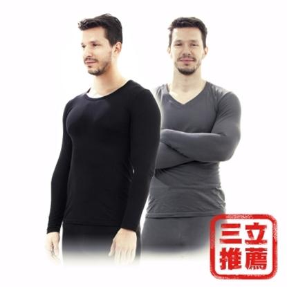圖片 【AITAO】諾貝爾纖維保暖防護衣全套2入組(男)-電