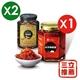 【宏嘉】蒜蓉辣椒醬X1+麻油薑X2-電