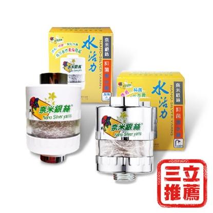 圖片 銀立潔 奈米銀絲Ag+除氯抑菌淨水器優惠組-電