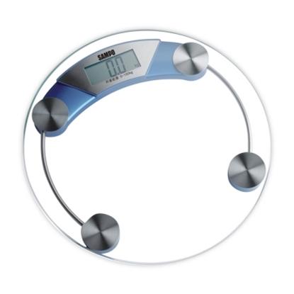 圖片 【SAMPO聲寶】大螢幕自動電子體重計 BF-L1104ML