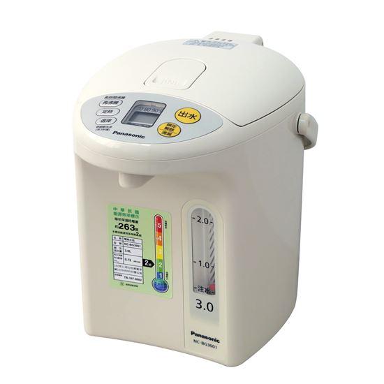 圖片 【Panasonic國際牌】3公升真空斷熱電熱水瓶 NC-BG3001